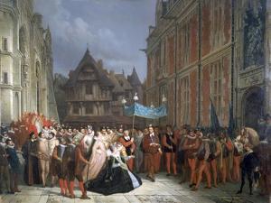 Duchess of Montpensier, 1864 by Ary Scheffer