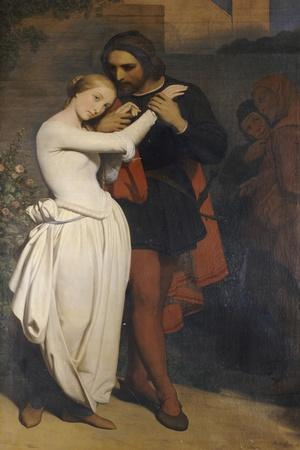Faust and Margaret in the Garden, 1846