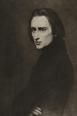 Franz Liszt, Hungarian Composer by Ary Scheffer