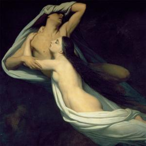 Paolo and Francesca by Ary Scheffer