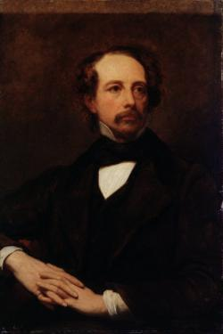Portrait of Charles Dickens by Ary Scheffer