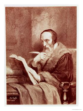 Portrait of John Calvin (1509-1564) by Ary Scheffer