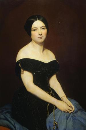 Portrait of Madame Edmond Caillard, 1842