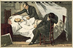 The Death of Gericault by Ary Scheffer