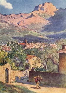 Majorca, Soller 1909 by AS Boyd