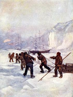 The Ships Were Called the Terror and the Erebus, 1847 by AS Forrest