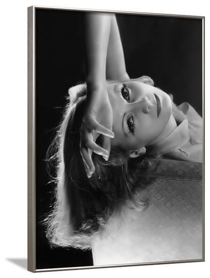 As You Desire Me by George Fitzmaurice, based on a play by Luigi Pirandello, with Greta Garbo, 1932--Framed Photo