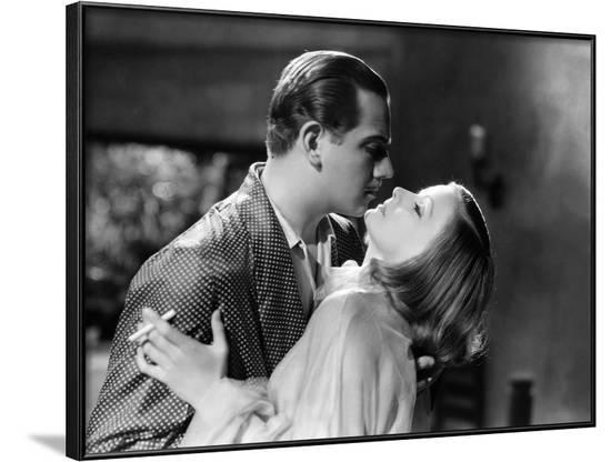 As You Desire Me by George Fitzmaurice, based on a play by Luigi Pirandello, with Melvyn Douglas, G--Framed Photo