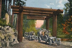 'Entrance to Mount Rainier National Park', c1916 by Asahel Curtis