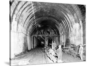 Great Northern Tunnel Under Seattle, Jan. 25, 1904 by Asahel Curtis