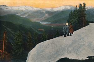 'Looking down from Mount Rainier', c1916 by Asahel Curtis