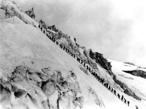 Mount Baker Ascent, 1908 by Asahel Curtis