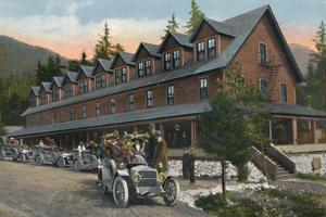 'Mount Rainier National Park Inn', c1916 by Asahel Curtis