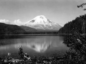 Mount St. Helens From Spirit Lake, 1923 by Asahel Curtis