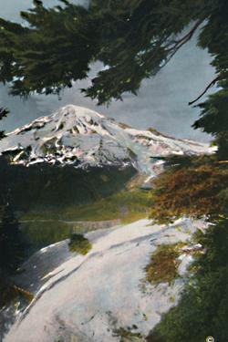 'Mount Tacoma from Eagle Peak, Washington', c1916 by Asahel Curtis