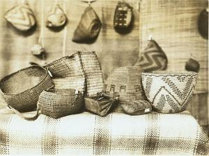 Northwest Native American Baskets by Asahel Curtis