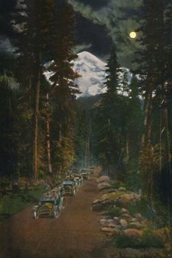 'On the Road from Mount Rainier National Park, Washington', c1916 by Asahel Curtis