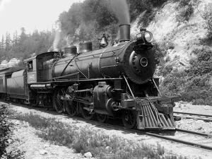 Railroad Locomotive 1443, Circa 1909 by Asahel Curtis