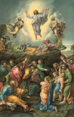 Ascension of Jesus into Heaven