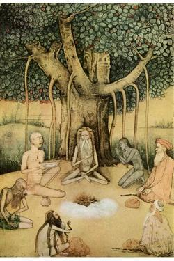 Asceticism: a Group of Mughal Ascetics