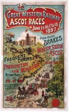 Ascot Races, GWR, 1897
