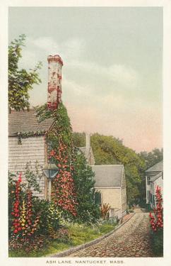 Ash Lane, Nantucket, Massachusetts