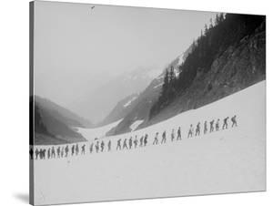 Mountaineers in the North Cascades, ca. 1909 by Ashael Curtis