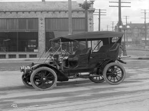 Vintage Automobile, Seattle, 1915 by Ashael Curtis