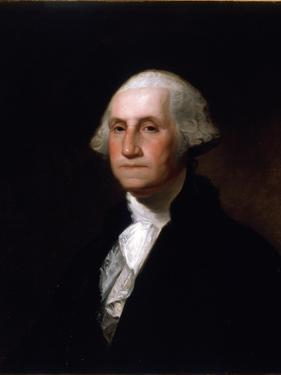 Portrait of George Washington, after a Painting by Gilbert Stuart (1755-1828) (See 149687 for Pair) by Asher Brown Durand