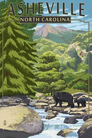https://imgc.allpostersimages.com/img/posters/asheville-north-carolina-black-bears-and-stream_u-L-Q1GQNVE0.jpg?artPerspective=n