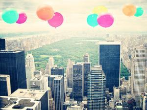 Central Park Balloons by Ashley Davis