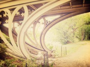 Central Park Mile Bridge by Ashley Davis