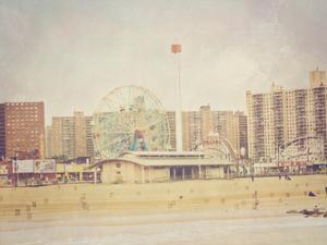 Coney Island Ferris 2 by Ashley Davis