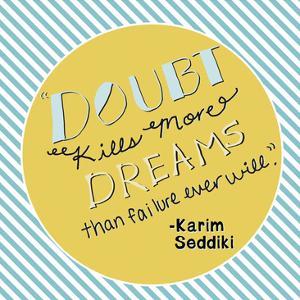 Doubt Kills Dreams by Ashley Davis
