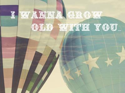 Grow Old Balloons by Ashley Davis