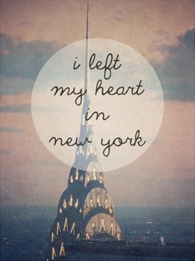 I Left My Heart In Ny by Ashley Davis