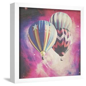 Pink Balloons In Space by Ashley Davis