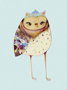 Owl I by Ashley Percival
