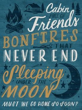 Cabin Full of Friends by Ashley Santoro