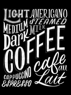 Coffee Collage by Ashley Santoro