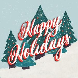Happy Holidays In The Snow by Ashley Santoro