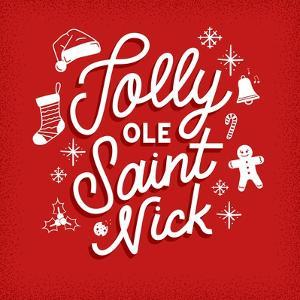 Jolly Ole Saint Nick by Ashley Santoro