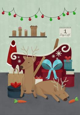 Santa's Garage by Ashley Santoro