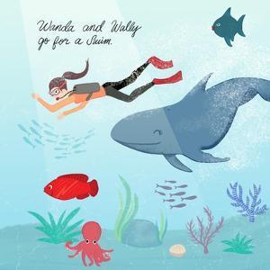 Whale And Wanda by Ashley Santoro