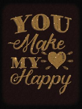 Happy Heart Gold by Ashley Sta Teresa