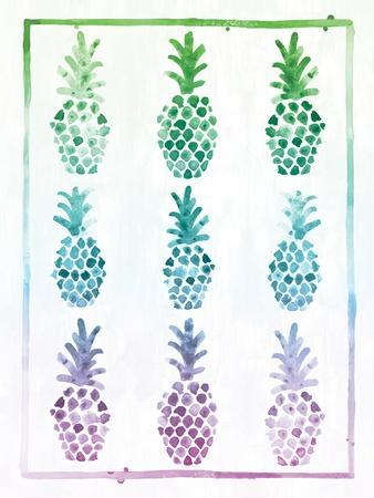 Ombre Pineapple