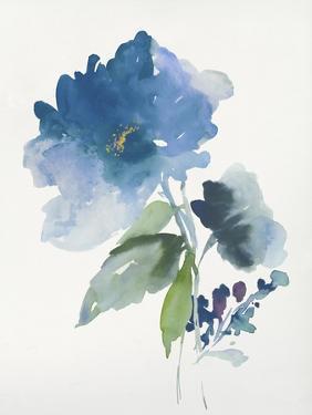 Blue Flower Garden III by Asia Jensen