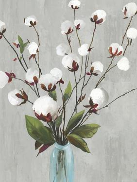 Cotton Ball Flowers II by Asia Jensen