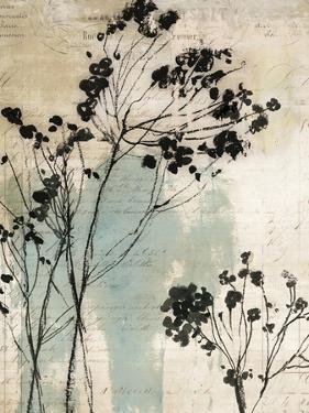 Inky Floral I by Asia Jensen