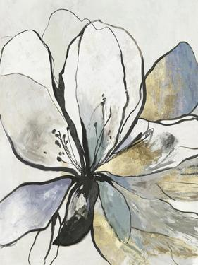 Outlined Floral II by Asia Jensen